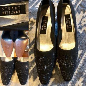 Stuart Weitzman Black Heels Never Worn Sz 6.5